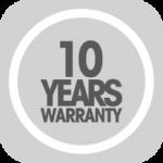 10 year wear warranty